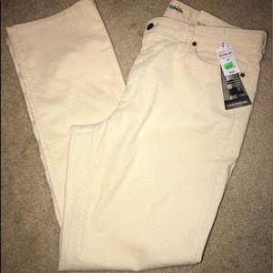 Pants - Cute soft pale yellow corduroy pants